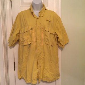 Cabela's Yellow Guidewear Shirt